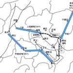 生糸が江戸・横浜に届くルート